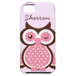 Cute Custom Pink Owl iPhone 5 Vibe Case iPhone 5 Covers