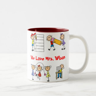 Cute Custom School Teacher Mug