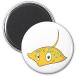 Cute Custom Stingray Cartoon Shirt Magnets