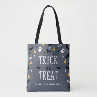 Cute Custom Trick or Treat Halloween Bags