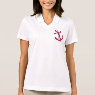 Cute Customizable Anchor Tees, Gifts Polo Shirt