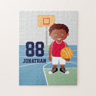 Cute customizable Basketball Puzzles