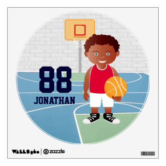 Cute customizable Basketball Room Graphic