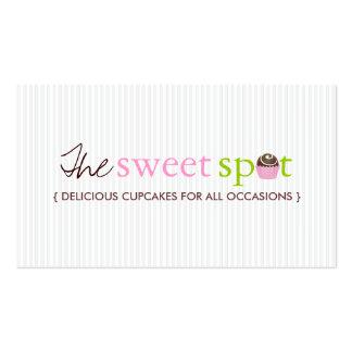 CUTE CUSTOMIZABLE CAKE BALL BUSINESS CARD