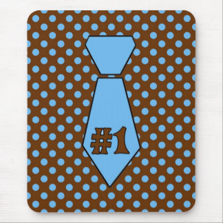 Cute Customizable Father s Day Tie Mouse Pad