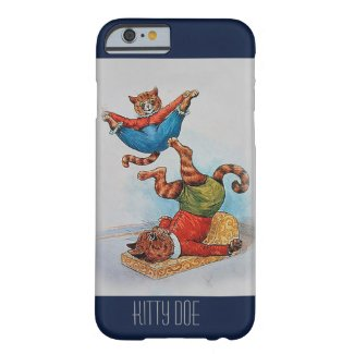 Cute Customizable iPhone6 Case - Louis Wain's Cats Barely There iPhone 6 Case