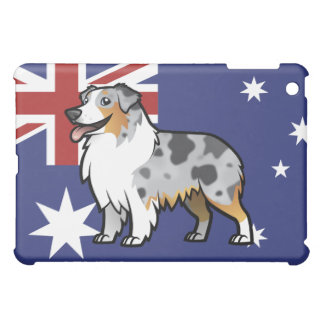Cute Customizable Pet on Country Flag Case For The iPad Mini