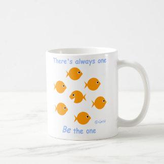 Cute Customizable Teacher Goldfish Gift Mug
