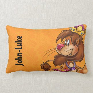 Cute customize kids pillow with lion