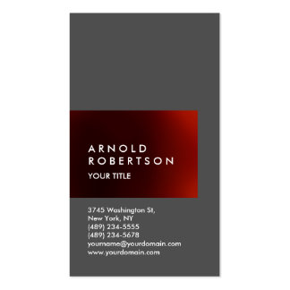 Cute Customize Text Professional Business Card