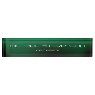 Cute Customize Text Professional Desk Nameplate