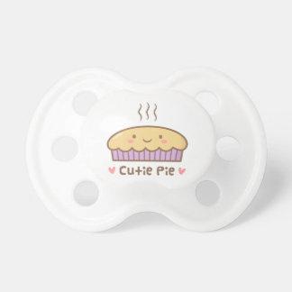 Cute Cutie Pie Doodle For Babies Pacifier