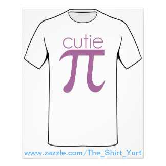 Cute Cutie Pie Pi Flyer