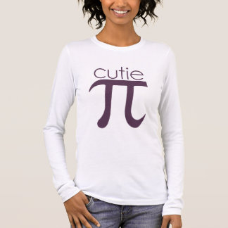 Cute Cutie Pie Pi Long Sleeve T-Shirt