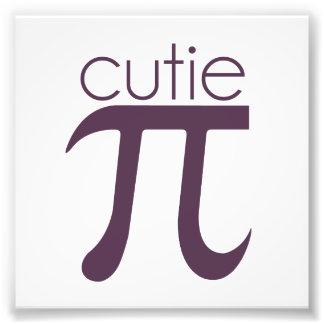 Cute Cutie Pie Pi Photo Print