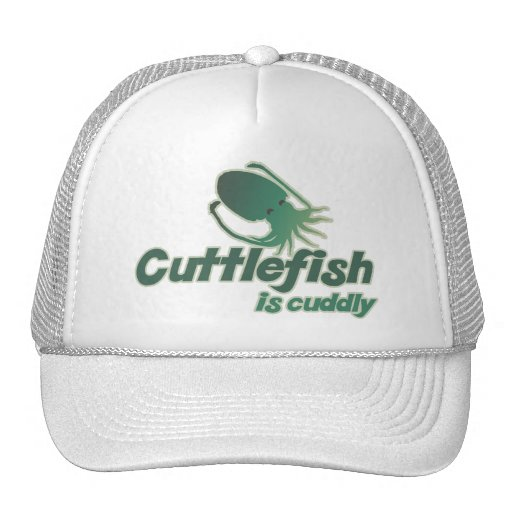 Cute Cuttlefish just wants to cuddle Trucker Hats