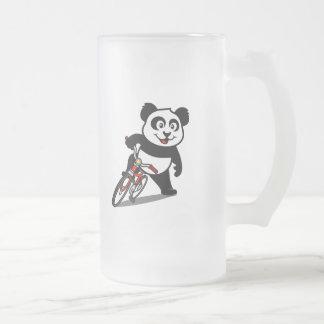 Cute Cycling Panda Mug