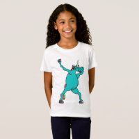 Cute Dab Dance Unicorn Dabbing T-Shirt