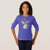 Cute Dabbing Mermaid Unicorn T-Shirt