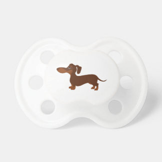 Cute Dachshund 2 Pacifier
