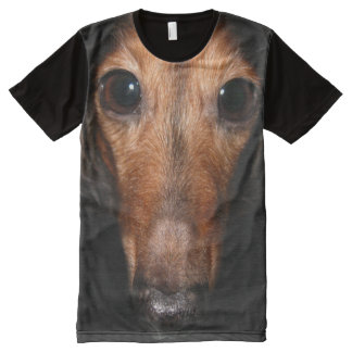 Cute Dachshund All-Over-Print Shirt