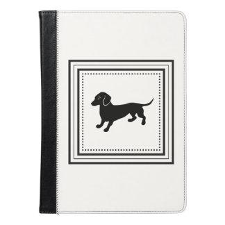 Cute Dachshund Black and White Classic iPad Air Case