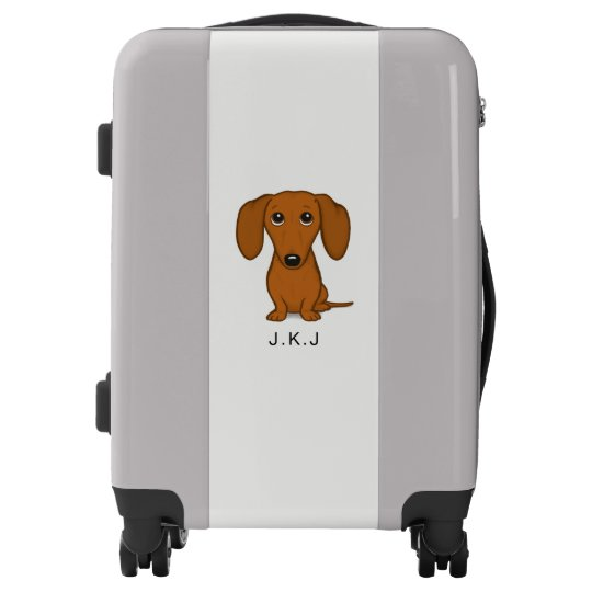 Longhaired Luggage Tags Canine Designs Set of 2 Dachshund