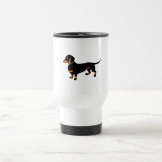 Cute Dachshund - Doxie Dog 15 Oz Stainless Steel Travel Mug