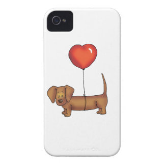 Cute Dachshund Gift iPhone 4 Cover