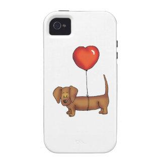 Cute Dachshund Gift Case-Mate iPhone 4 Cases