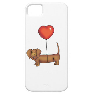 Cute Dachshund Gift iPhone 5 Case