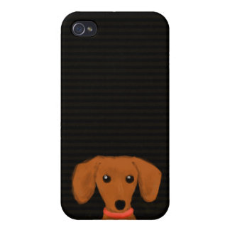 Cute Dachshund iPhone 4/4S Covers