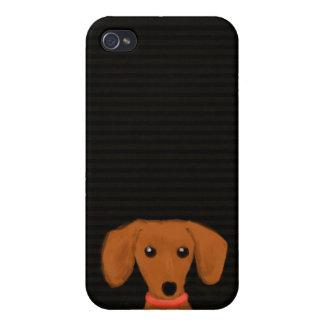 Cute Dachshund iPhone 4/4S Covers