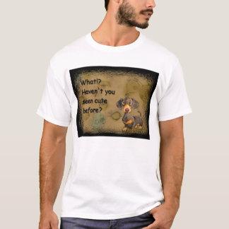 cute dachshund kids t-shirt