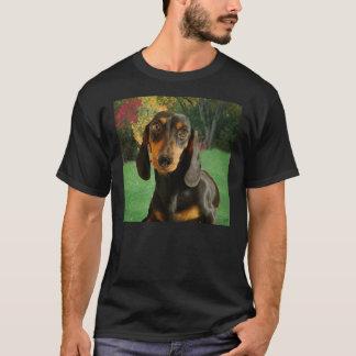 Cute Dachshund (Miniature Brown Short Haired) T-Shirt