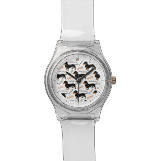 Cute Dachshund or Doxie Pattern Watch