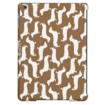 Cute Dachshund Pattern Perfect Gift for Doxie Love iPad Air Covers