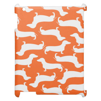 Cute Dachshund Pattern Perfect Gift for Doxie Love iPad Case