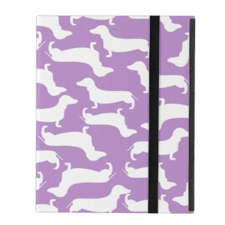 Cute Dachshund Pattern Perfect Gift for Doxie Love iPad Cover