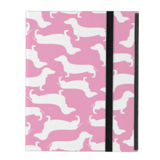 Cute Dachshund Pattern Perfect Gift for Doxie Love iPad Covers