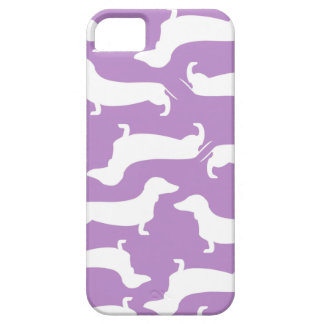 Cute Dachshund Pattern Perfect Gift for Doxie Love iPhone SE/5/5s Case