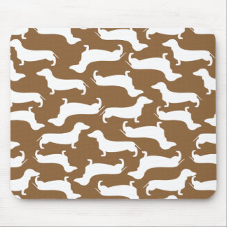 Cute Dachshund Pattern Perfect Gift for Doxie Love Mouse Pad
