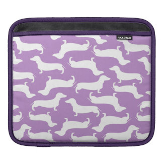 Cute Dachshund Pattern Perfect Gift for Doxie Love Sleeve For iPads