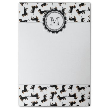 antiqueimages Cute Dachshund Pattern Post-it Notes