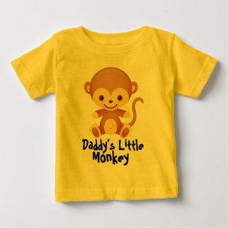 Cute Daddy's little monkey Babby T-shirt