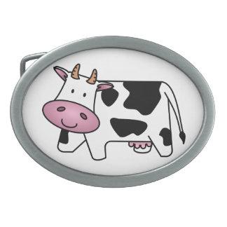 Cute Dairy Cow Belt Buckle