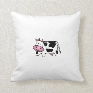 Cute Dairy Cow Throw Pillows