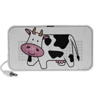 Cute Dairy Cow Travel Speaker