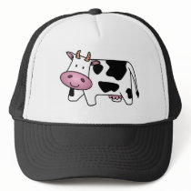 Cute Dairy Cow Trucker Hat