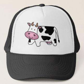 Cute Dairy Cow Trucker Hat